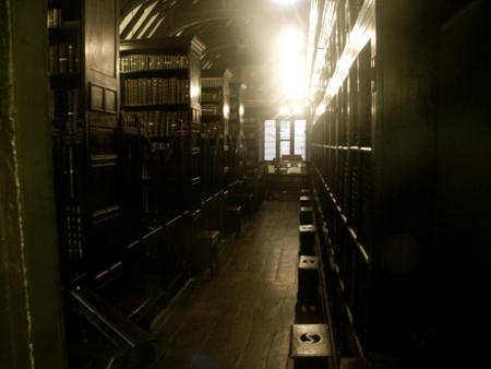 Bibliothèque de Chetham, Manchester, UK