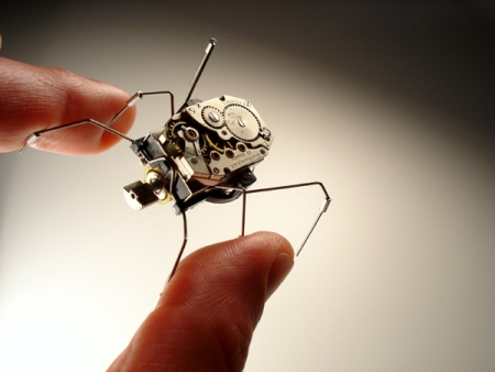 Battery Powered Microbotic Insect