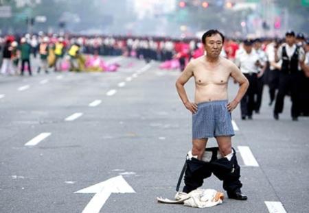 La Corée en shorts