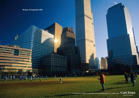 New York, lundi 10.09.2001