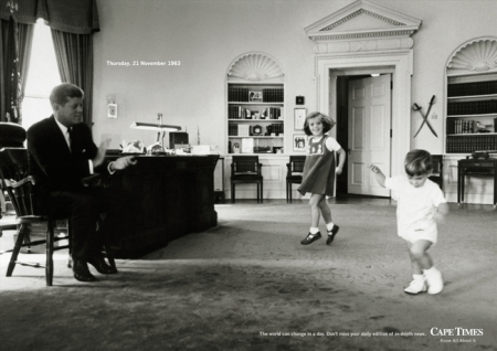 La Maison Blanche, jeudi 21.11.1963