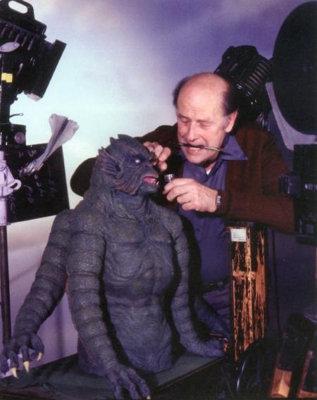 Ray Harryhausen et son Kraken
