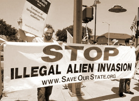 Stop illegal aliens