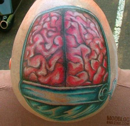 Tatouage cervelle